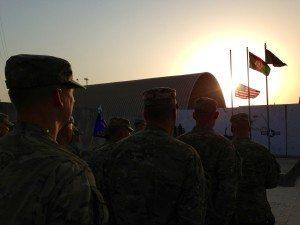 Kabul 911 Flag Retreat - GeneralLeadership.com