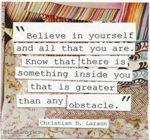 Believe the Best in Yourself - GeneralLeadership