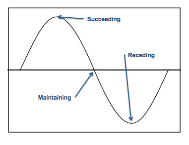 Performance Sine Curve Graphic